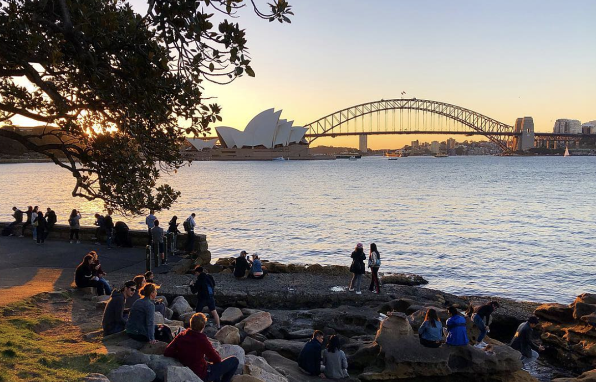 Mrs Macquarie's Chair sunset (Photo: Simon Jordan, @simonjordan27)
